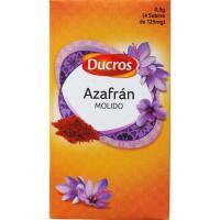 Azafrán molido DUCROS, caja 0,5 g