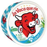 Queso light LA VACA QUE RIE, 24 porciones, caja 375 g