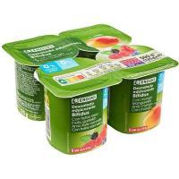 Yogur Biactive desnatado con frutas del bosque