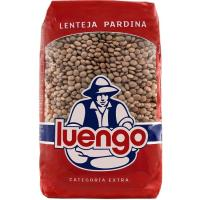 Lenteja pardina LUENGO, paquete 500 g