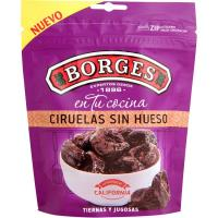 Ciruelas sin hueso BORGES, bolsa 150 g
