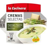 Crema de espárragos trig. LA COCINERA C. Selectas, tarrina 230 g