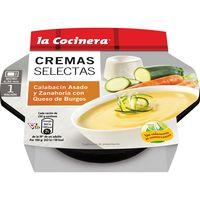 Crema de calabacín LA COCINERA C. Selectas, tarrina 230 g
