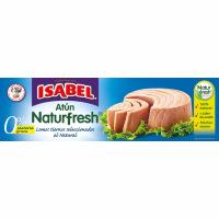 Atún al natural ISABEL Naturfresh, pack 3x70 g