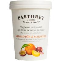 Yogur de melocotón-maracuya PASTORET, tarro 500 g