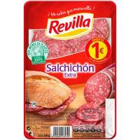 Salchichón extra REVILLA, bandeja 80 g
