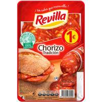 Chorizo tradición REVILLA, bandeja 85 g