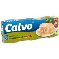 Atún claro en aceite de oliva La Española CALVO, pack 3x100 g