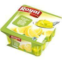 Gelatina de limón ROYAL, pack 4x100 g