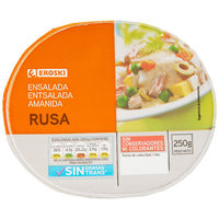 Ensalada rusa EROSKI, tarrina 250 g