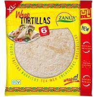 Wrap tortilla ZANUY, 6 unid., paquete 375 g