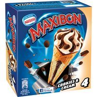 Cono Maxibon Cookies&Cream NESTLÈ, pack 4x120 ml