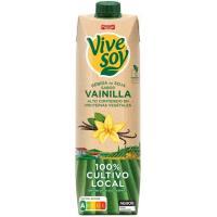 Bebida de soja sabor vainilla PASCUAL Vivesoy, brik 1 litro