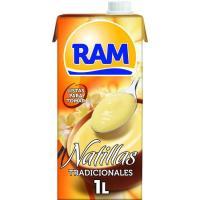 Natillas RAM, brik 1 litro