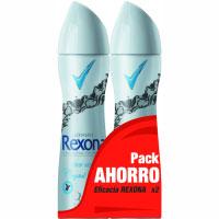 Desodorante Clear Aqua REXONA, pack 2x200 ml
