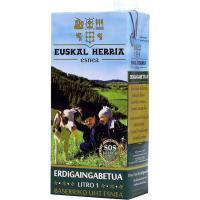 Leche Semidesnatada EUSKAL HERRIA, brik 1 litro