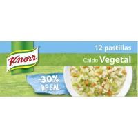 Caldo suave de verduras KNORR, caja 120 g