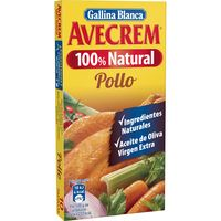 Caldo 100% natural  pollo AVECREM, caja 10 pastillas