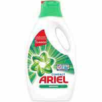 Detergente líquido ARIEL, garrafa 40 dosis