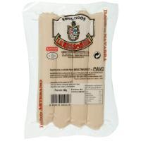 Salchichas Bratwurst de pavo LARRASOAÑA, sobre 300 g