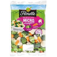 Coliflor-Broculi-Zanahoria Micro FLORETTE, bolsa 275 g