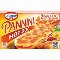 Pannini Hot Dog DR OETKER, caja 250 g