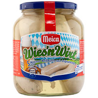 Salchichas Weisswurst MEICA, frasco 345 g
