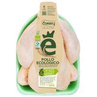 Pollo entero ecológico COREN, pieza al peso aprox. 1.7 kg