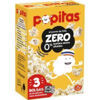 Popitas zero BORGES, pack 3x70 g