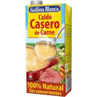 Caldo casero de carne GALLINA BLANCA, brik 1 litro