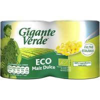 Maíz ecológico GIGANTE VERDE, pack 2x140 g