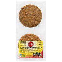 Vegeburger seitan-calabaza TOKIECO, bandeja 160 g