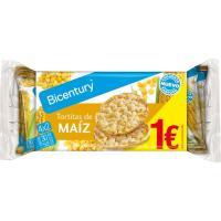 Tortitas de maíz NACKIS, paquete 60 g