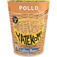 Pasta oriental Cup de pollo YATEKOMO, vaso 60 g