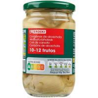 Alcachofa 10/12 piezas EROSKI, frasco 175 g