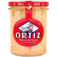 Bonito del norte en aceite de oliva ORTIZ, frasco 220 g