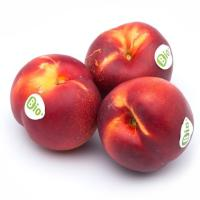 Nectarina ecológica, al peso, compra mínima 1 kg