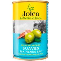 Aceitunas rellenas suaves JOLCA, lata 130 g