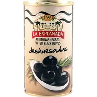 Aceitunas negras selección LA EXPLANADA, lata 150 g