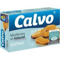 Mejillones al natural 14/19 piezas CALVO, lata 69 g