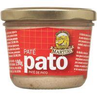 Paté de pato MARTIKO, frasco 190 g