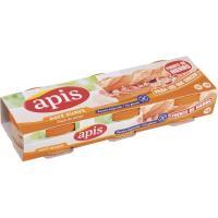 Paté hígado suave APIS, pack 3x80 g