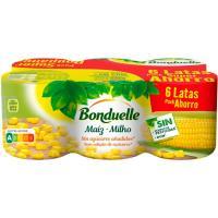 Maíz dulce BONDUELLE, pack 6x140 g