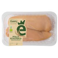 Pechugas de pollo ecológico COREN, bandeja aprox. 380 g