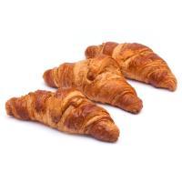Croissant de mantequilla recto, bandeja 4 unid.