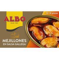 Mejillón en salsa gallega 14/19 piezas ALBO,  lata 115 g