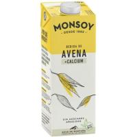 Bebida de Avena con Calcio MONTSOY, brik 1 litro