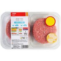 Hamburguesa de pollo y cerdo Eroski BASIC