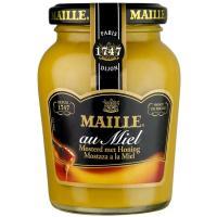 Mostaza miel MAILLE, frasco 230 g