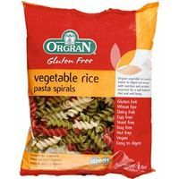 Vegetable Rice Spiral ORGRAN, paquete 250 g